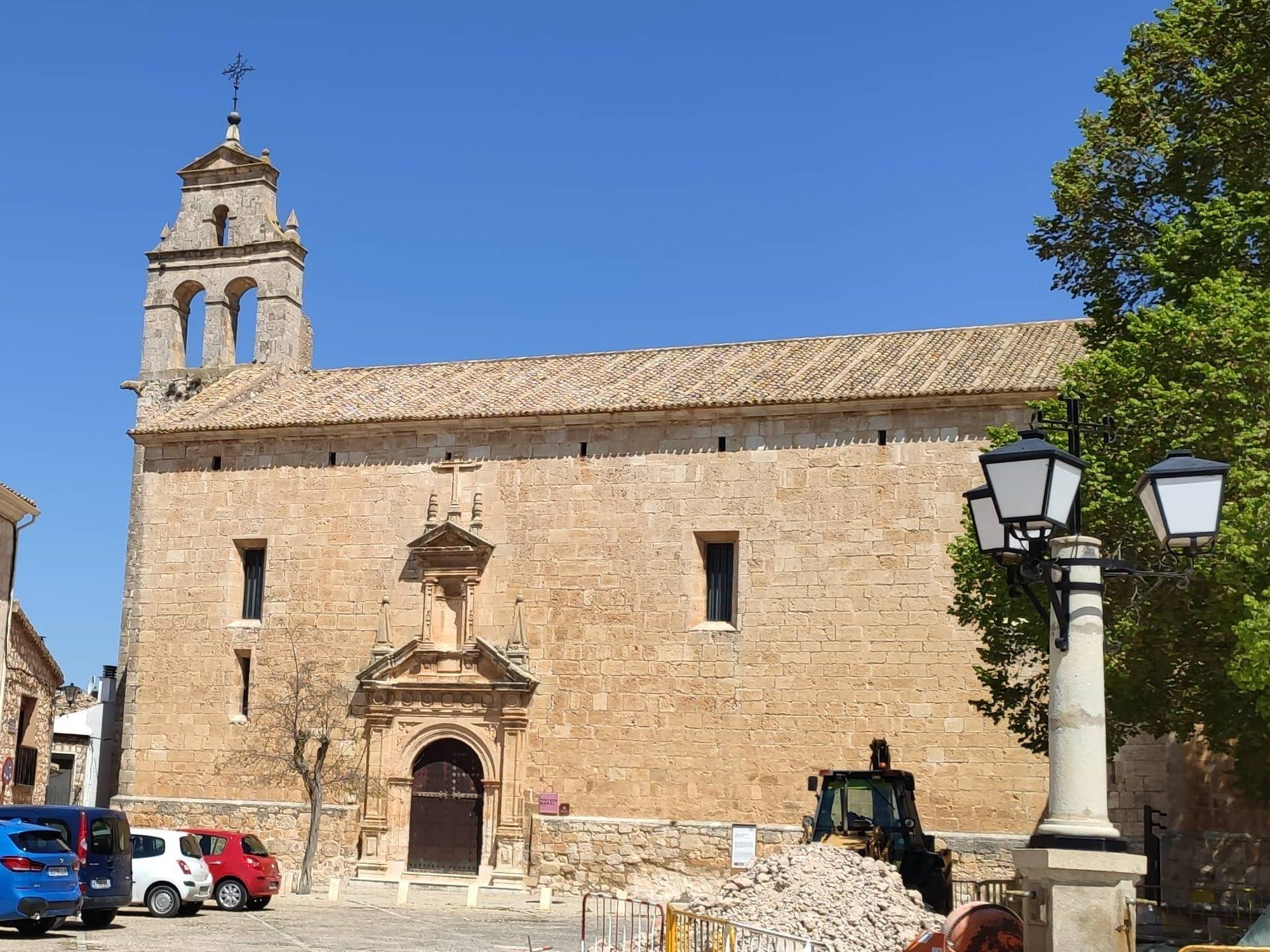 Iglesia de San Juan Bautista de Alarcón